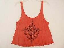 NEW VOLCOM BLAZING STAR TANK TOP CAMI TEE SMALL MEDIUM S218