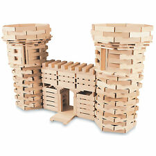 NEW Wooden Plank Building Block Set -100% Maple-Made in USA -400 Piece set