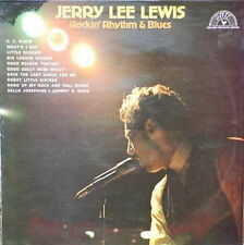 "12"" Jerry Lee Lewis Rockin`Rhythm & Blues (C.C. Rider, Little Queenie) SUN"