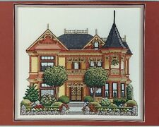 """""""Gingerbread Mansion"""" Nancy Spruance Designs Victorian House Chart pack ©1990"""