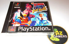 PS1 Game X Men VS Street Fighter Complete Excellent Very Rare