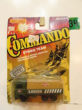 MATCHBOX 1988 COMMANDO STRIKE TEAM TRUCK