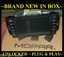 NEW 2007-09 CHRYSLER 300 JEEP DODGE RAM Dakota MYGIG Radio CD Player DVD AUX MP3