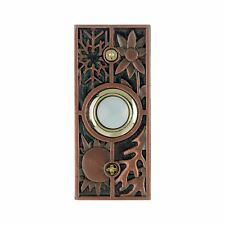 Carlon Lighted Doorbell Button Solid Brass Antique Copper door bell Seasons
