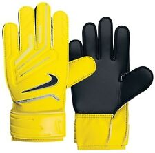 New Nike GK Grip Adult Glove Soccer Goalkeeper Gloves  Yellow/Blk Sz.9 or 11