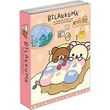NEW Cute Memo Pad Rilakkuma Relax Bear Stationary Office School Christmas Pink