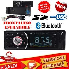 STEREO AUTO BLUETOOTH AUTORADIO VIVAVOCE RADIO FM MP3 USB AUX SD CARD 45WX4