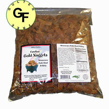 Carolina Gold Nuggets Microwave Pork Puffies Pork Rinds, Original, 10 Pounds