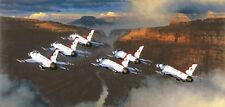 Jigsaw puzzle Airplane Thunder in the Canyon USAF Thunderbirds 1000 piece NEW