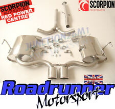Scorpion SMN003 Mini Cooper S R52 MK1 Convertible Exhaust Stainless Cat Back