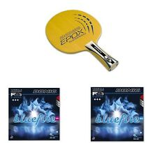 Donic Epox Topspeed Table Tennis Blade + Donic Blue Fire M1 & M2 Rubbers