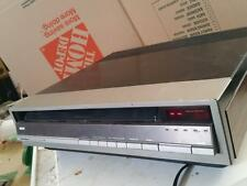 RCA SelectaVision SJT 300 CED Video Disc Player  For Part or Repair. AS IS