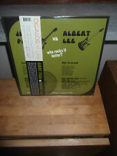 "Jimmy Page Vs Albert Lee ‎""Who Rocks It Better?"" LP+CD LILITH USA 2012 - SEALED"