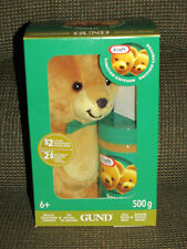 Gund Kraft Peanut Butter Bear Green Bow Tie Brand New Unopened (Sealed )