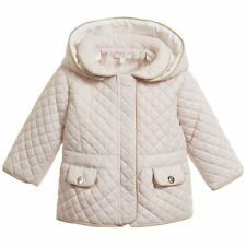 CHLOE BABY PINK QUILTED JACKET COAT 18 MONTHS