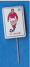 FOOTBALL - Soccer Club FK VELEZ - Mostar, Bosnia - club's jersey pin badge