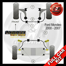 Ford Mondeo (00-07) Powerflex Black Complete Bush Kit Rear 22mm ARB Bush