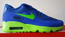 NIKE AIR MAX 90 BLU ELETTRIC VERDE FLUO N.39 LIMITED EDITION NEW MODEL OKKSPORT
