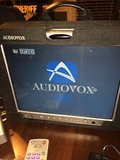 AUDIOVOX 12 inch PORTABLE TV/DVD PLAYER