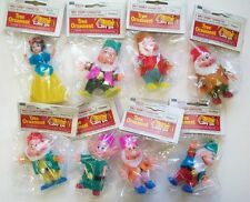 Walt Disney Snow White & Seven Dwarfs Christmas ornaments in packages 1970's?