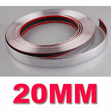 20mm*15m Chrome Car Styling Moulding Strip Trim Self Adhesive Strip Cover Tape##