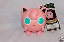 "NEW WTH TAG POKEMON JIGGLYPUFF 4"" PLASTIC FIGURE  TOMY"