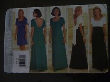 BUTTERICK DONNA RICCO WOMENS EVENING DRESS PATTERN 4776 SIZES 6-8-10 - UNCUT