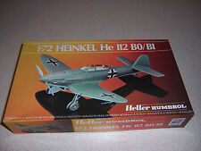VTG HELLER HEINKEL He 112 BO/BI 1/72 SCALE AIRPLANE MODEL KIT