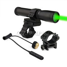 Laser Genetics ND3 Long Distance Green Laser Designator With Mount & Battery
