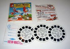 1964 Woody Woodpecker Space Mouse Sawyers VIEW MASTER PACKET # B509 Complete