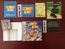 DONKEY KONG - Game Boy game - Original/Complete and Rare Vintage US Version.