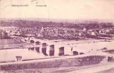 Grevenmacher Luxembourg panoramic birds eye view of area antique pc Z17999
