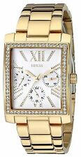 Guess Women's U0446L2 Stunning Retro Gold-Tone Multi-Function Watch