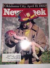 Newsweek Magazine Oklahoma City April Terrors May 1,  1995 101216R2