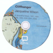 Jacqueline Wilson Story - CLIFFHANGER - Audio CD - NEW