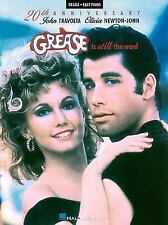 Grease is Still The Word 20th Anniversary Song Book Sheet music Paperback