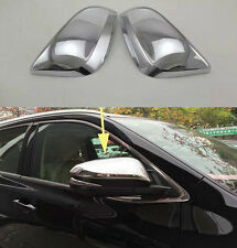 Chrome Side Mirror Cover Trim for 2014-2016 Toyota Highlander new