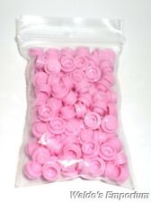 Lego LIGHT PINK 1x1 PLATE ROUND, 4073 Lot of 100, New