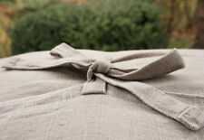 Linen pillow case - Natural fabric pillow cover-Stone washed-decorative covers