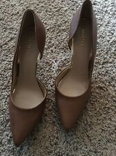 Merona Womens Pumps Classic Cognac Size 8.5 New High Heels Pointed Toe