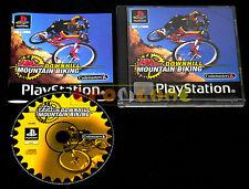 NO FEAR DOWNHILL MOUNTAIN BIKING Ps1 Versione Italiana 1ª Edizione •• COMPLETO