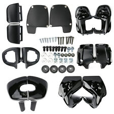 Lower Vented Leg Fairing Glove Box For Harley Touring Road King Electra Glide