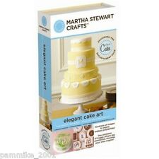 CRICUT *ELEGANT CAKE ART* MARTHA STEWART CARTRIDGE NEW WEDDING HOLIDAY BIRTHDAY