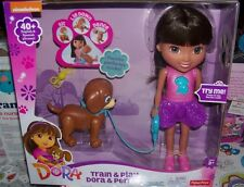 Nickelodeon Train & Play Dora & Perrito Doll & puppy NEW IN BOX