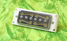 Gold Foil Moustache Pickup BRIDGE De one armond / Silvertone - Harmony - Kay NEW