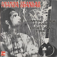 "7"" 45 TOURS FRANCE ANANDA SHANKAR ""Jumpin' Jack Flash / Light My Fire"" 1970"