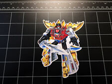 Transformers G1 Snarl box art vinyl decal sticker Autobot dinobots 1980's 80s
