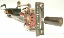 ROCKOLA 433 JUKEBOX  part:  Tested /  Working  SERVICE SWITCH  ASSEMBLY