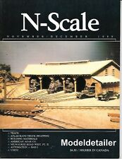 N-Scale V1 N3 Track Laying Ballasting San luis Obispro Roundhouse Milwaukee Road