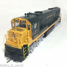Korea Brass HO 1/87 Scale GE U25C U252011 Northern Pacific #2516 DC Model Train
